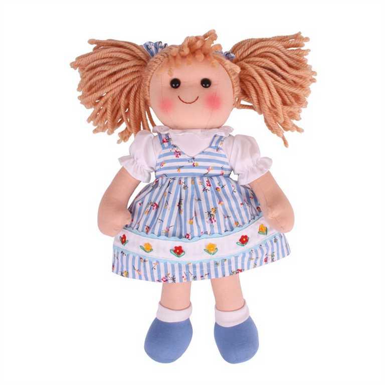 Bigjigs Toys Látková panenka Christina 34 cm