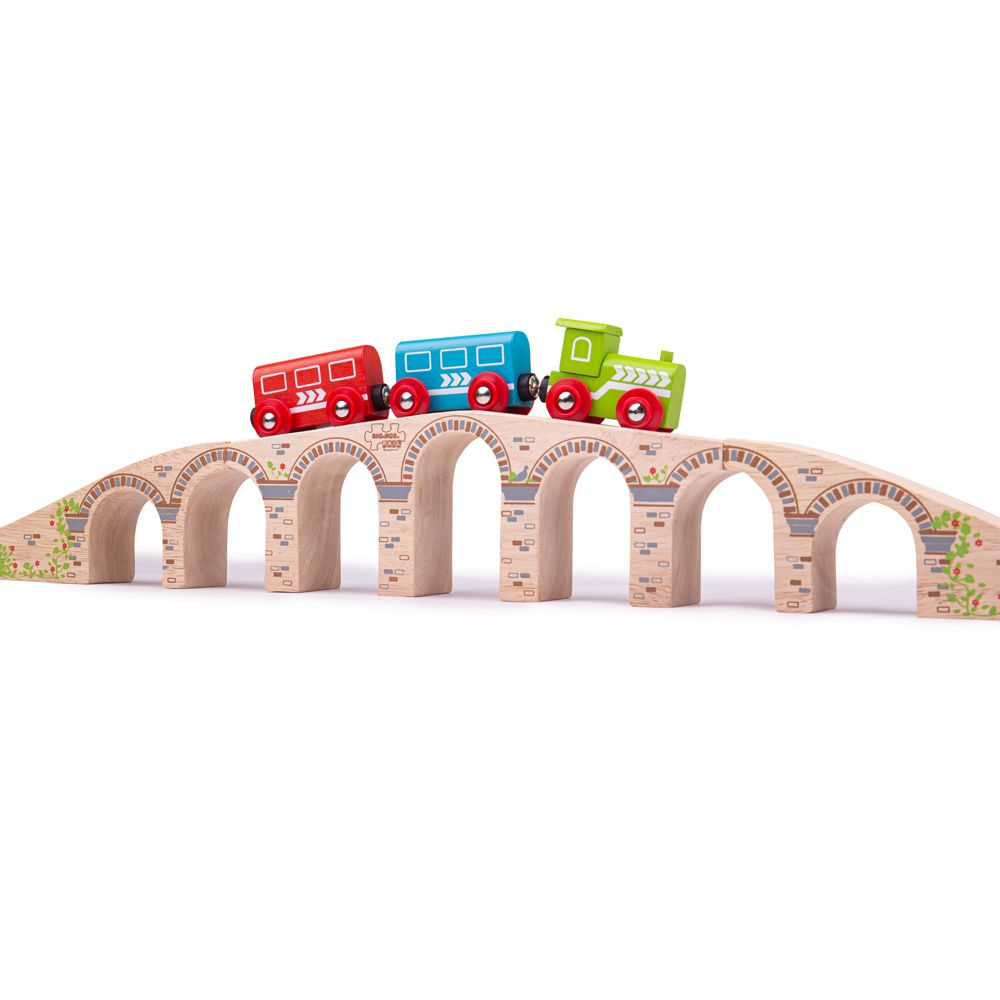 Bigjigs Rail Dlouhý železniční most