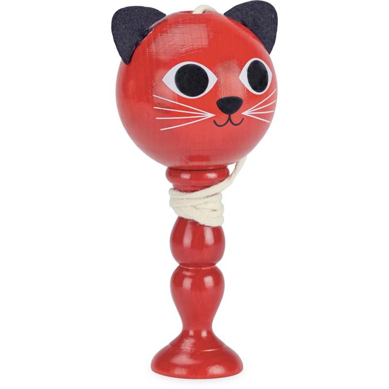 Vilac Balónek na tyči kočička červená