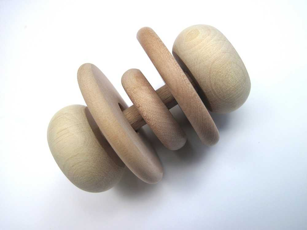 Dřevěné kousátko přírodní