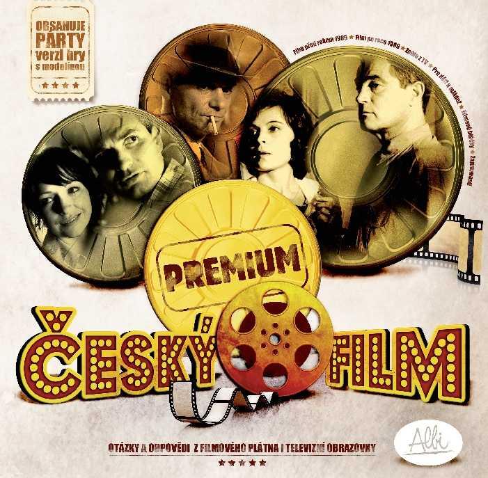 Rodinné deskové hry - Český film Premium