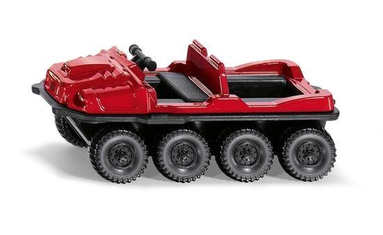 Kovový model - SIKU Blister - Čtyřkolový trasporter Argo Avenger