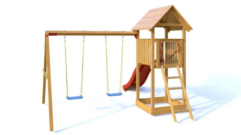 Dřevěné dětské hřiště - Dětské hřiště NATÁLKA