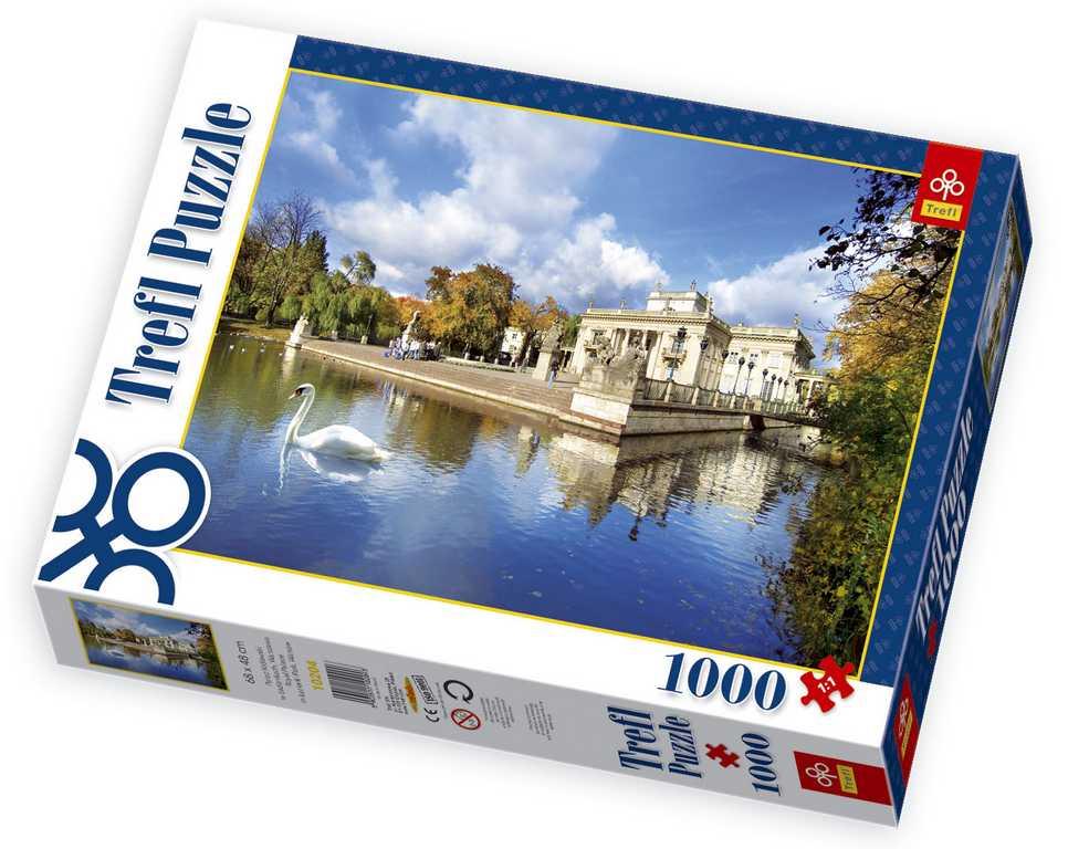 Papírové puzzle - Královský palác ve Varšavě