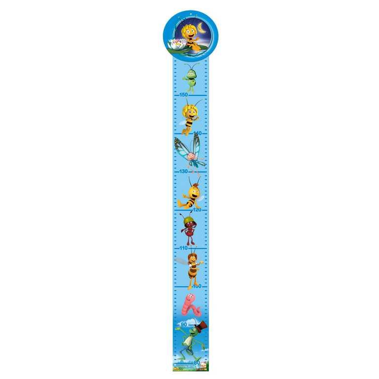 Dřevěné hračky - Metr - Včelka Mája (modrý)