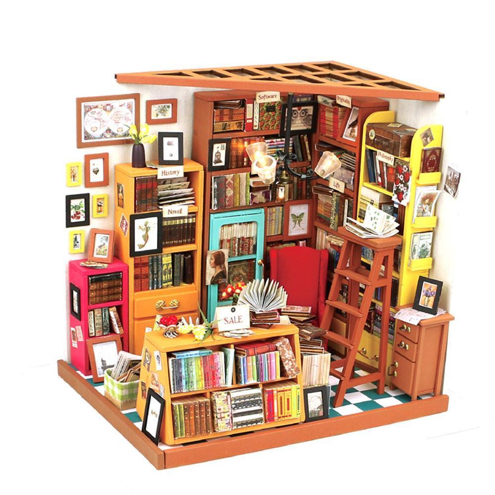 RoboTime miniatura domečku Knihovna