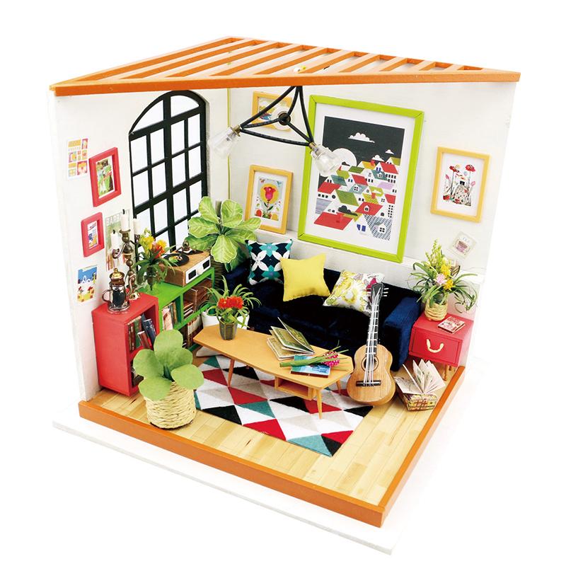 RoboTime miniatura domečku Obývací pokoj