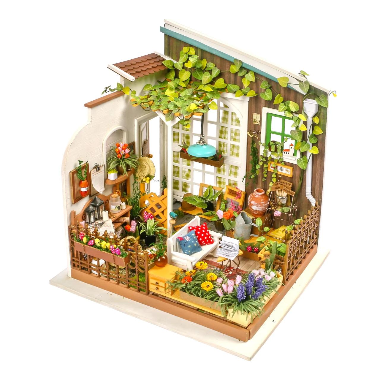 RoboTime miniatura domečku Zahradní terasa