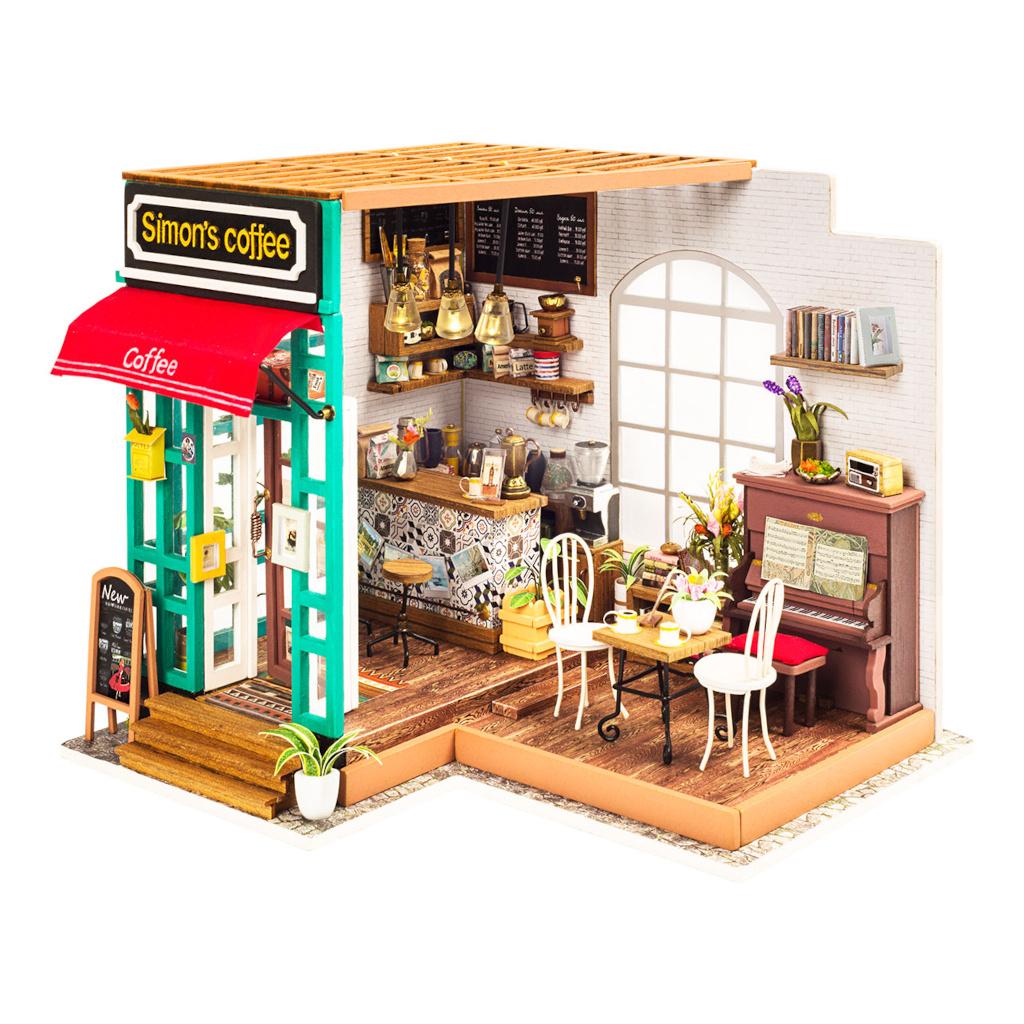 RoboTime miniatura domečku Kavárna