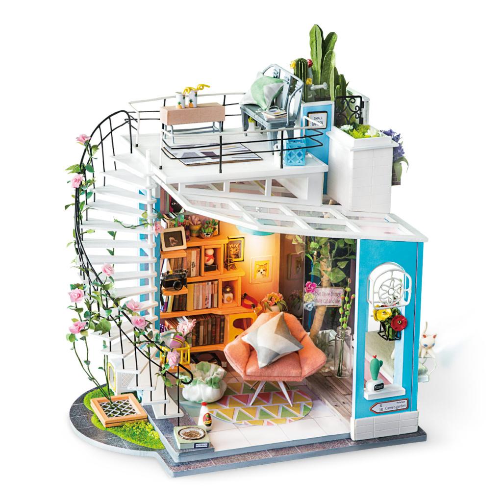 RoboTime miniatura domečku Podkroví