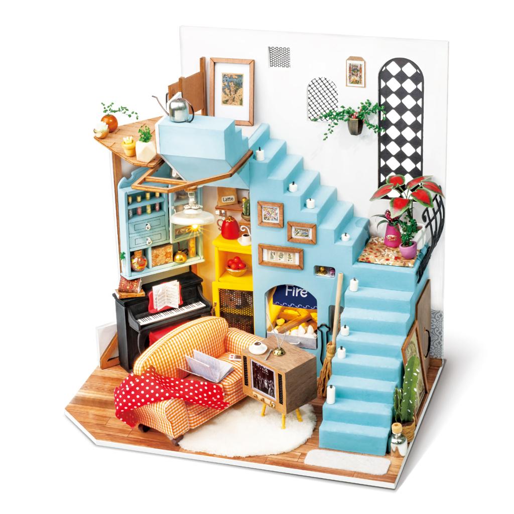RoboTime miniatura domečku Obývací kout