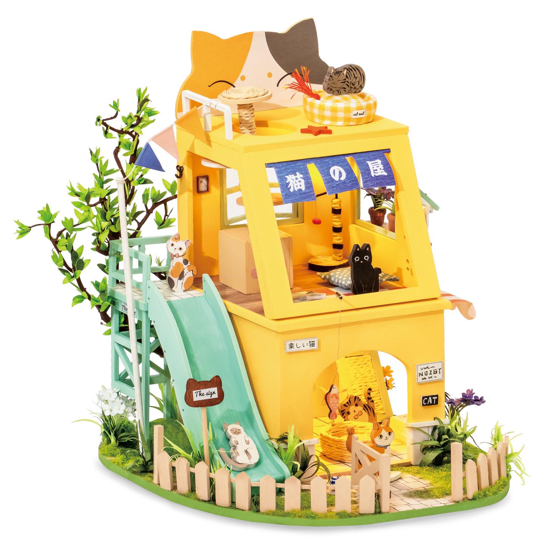 RoboTime miniatura domečku Kočičí dům