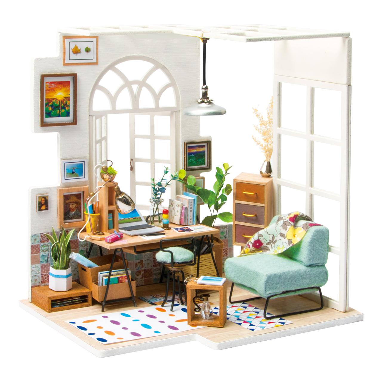 RoboTime miniatura domečku Domácí kancelář