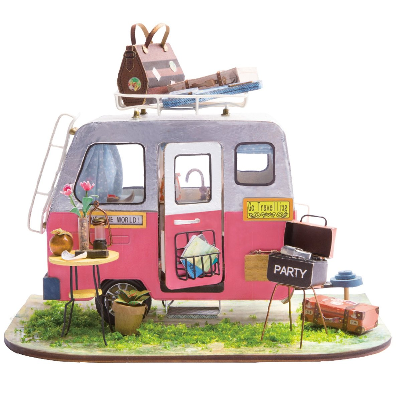 RoboTime miniatura domečku Párty karavan