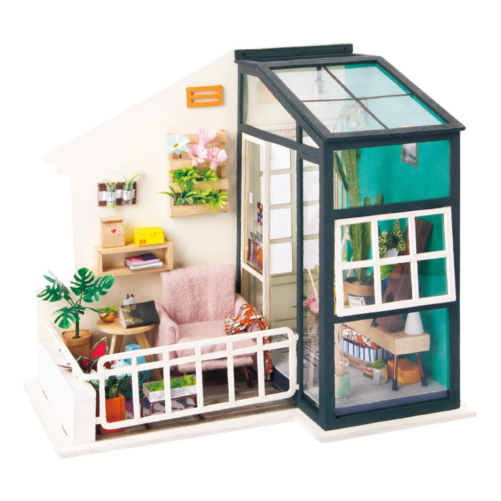 RoboTime miniatura domečku Balkón