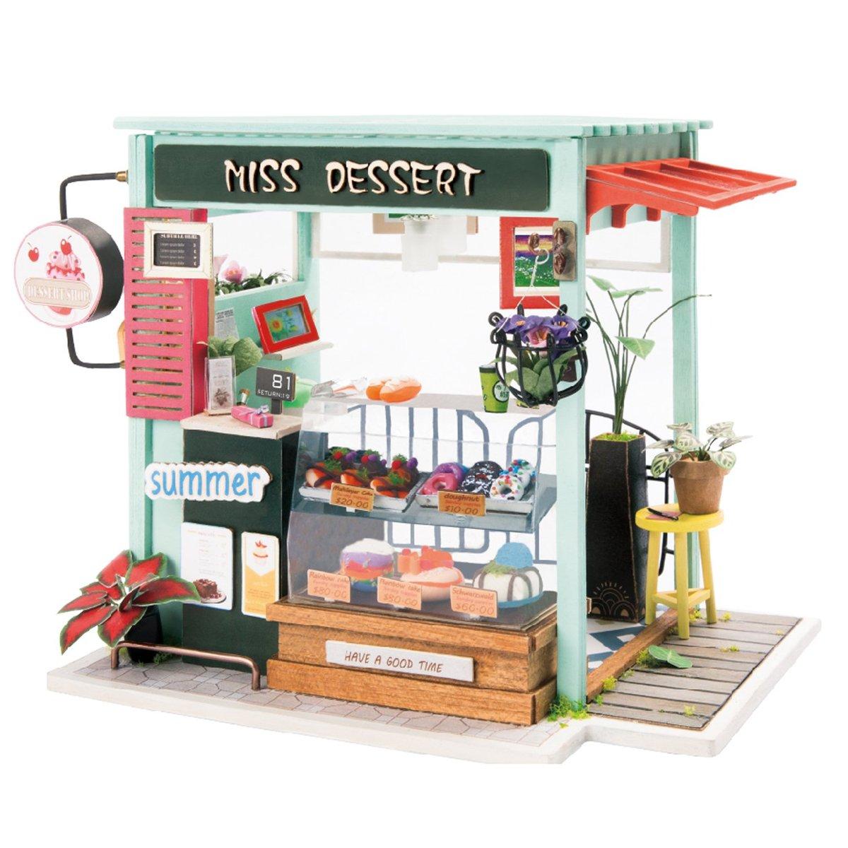 RoboTime miniatura domečku Cukrárna