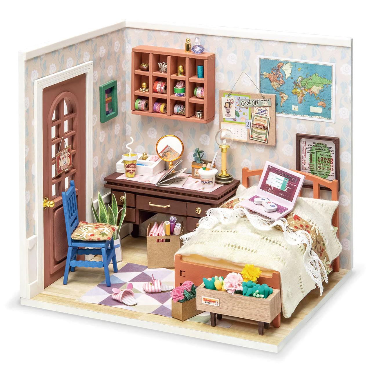 RoboTime miniatura domečku Dívčí pokoj