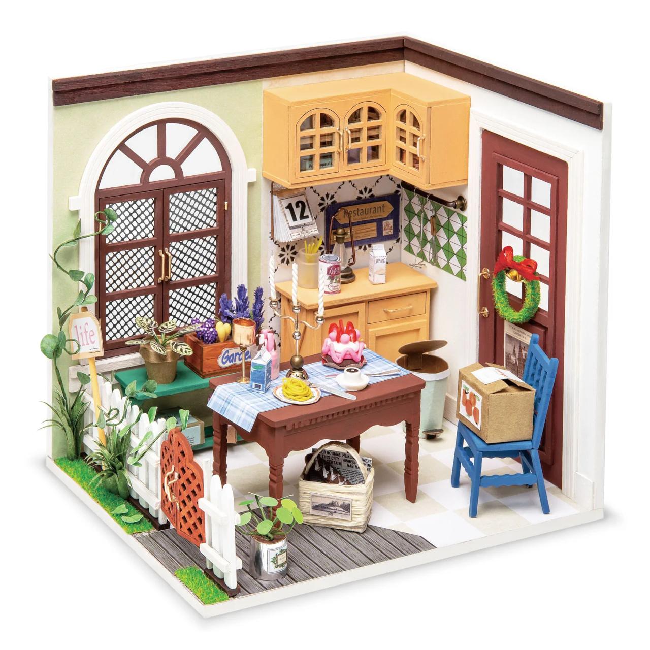 RoboTime miniatura domečku Jídelna