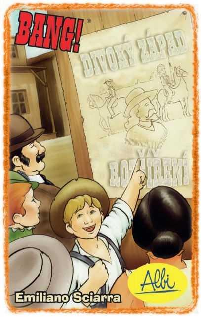 Rodinné karetní hry - Bang! - Divoký západ (Wild West Show)