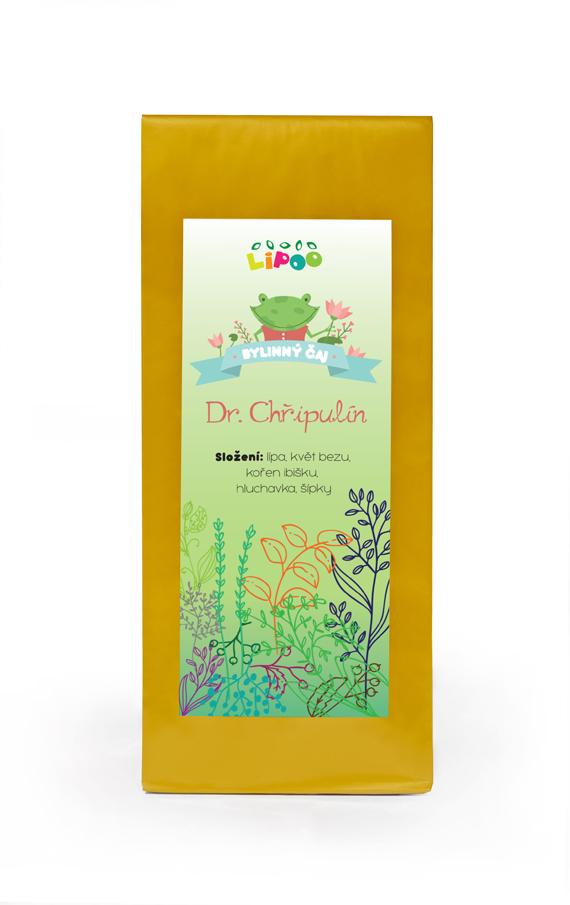 Čaj - Bylinné dětské čaje - Dr. Chřipulín