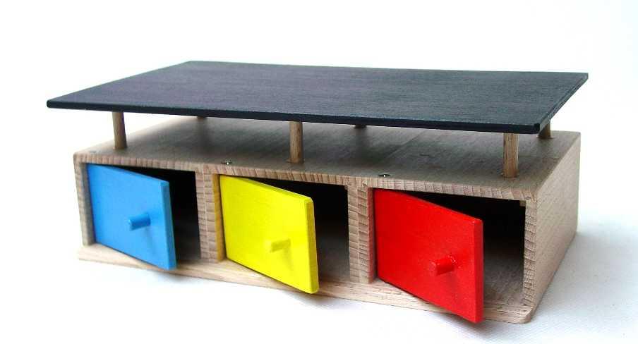 Dřevěná garáž pro 3 auta