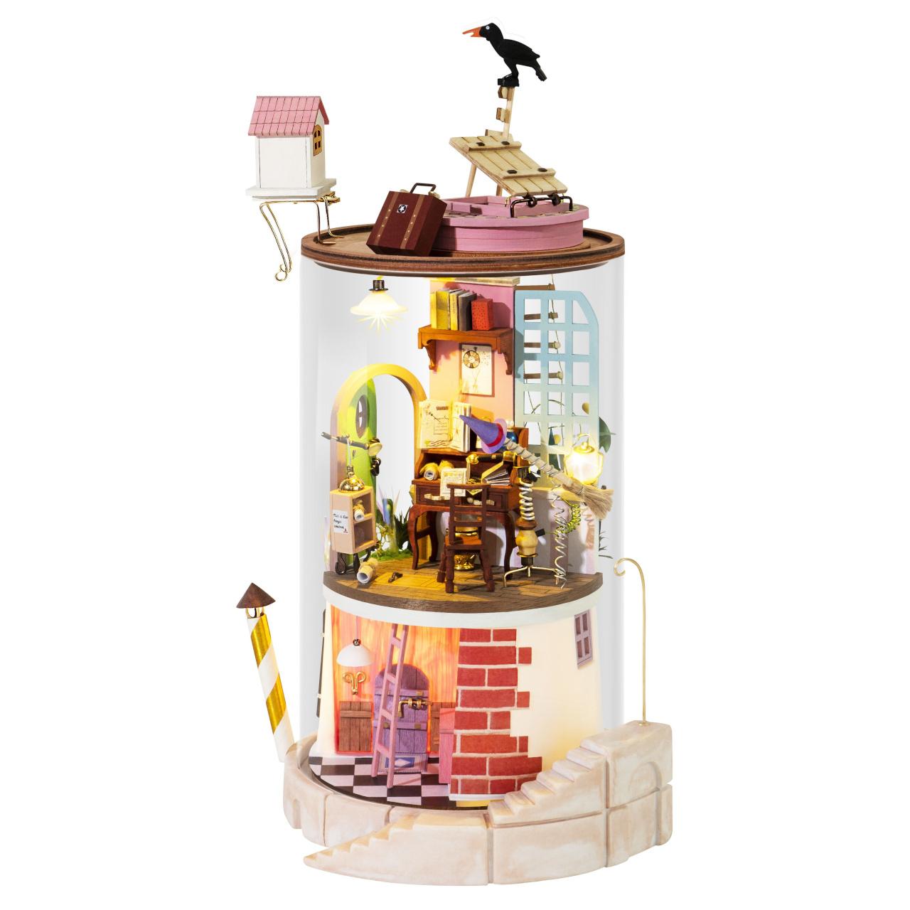 RoboTime miniatura domečku Skleněná podzemní skrýš
