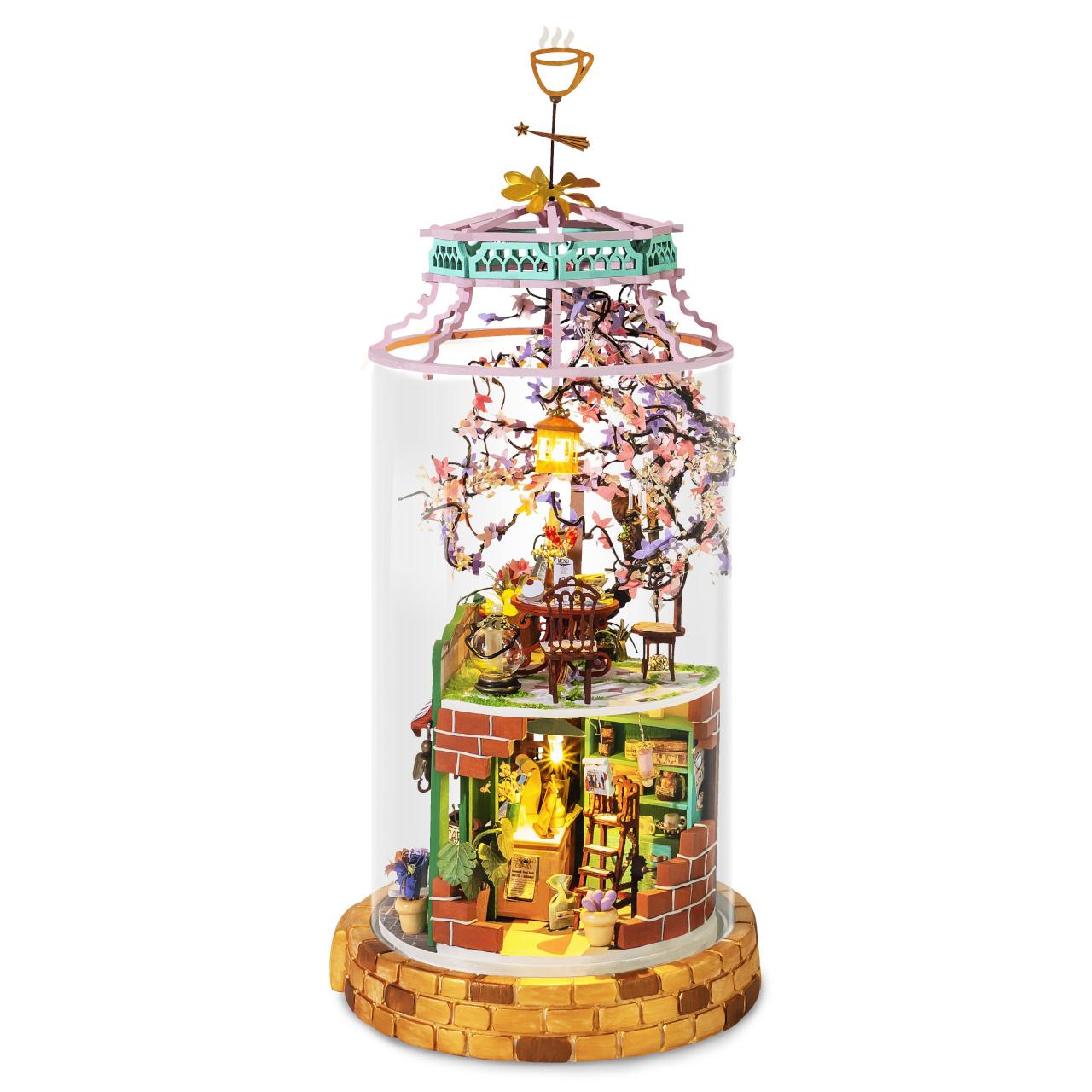 RoboTime miniatura domečku Skleněná čarodějná kavárna
