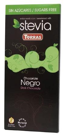 Torras Hořká čokoláda Stévia 100g