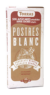 Torras Bílá čokoláda na vaření 200g
