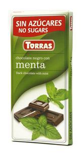Torras Hořka čokoláda s matou 75g