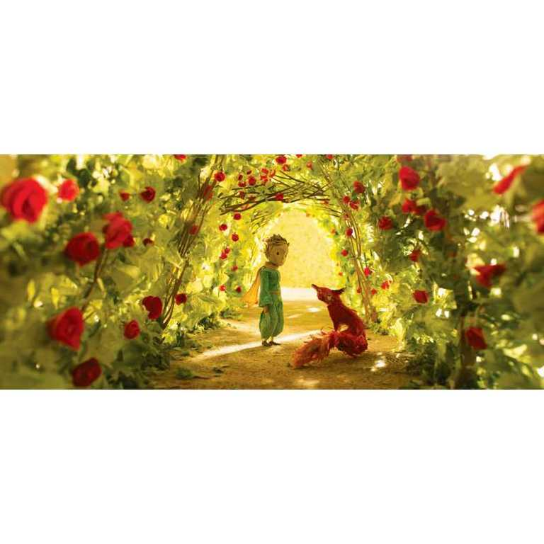 HAPE puzzle Malý princ Zahrada z růží 1000 dílků