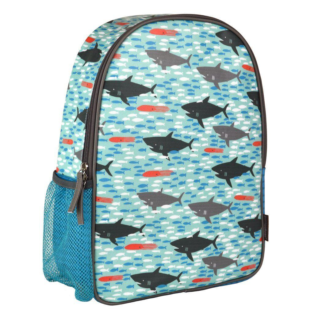 Petitcollage EKO-friendly batoh žraloci