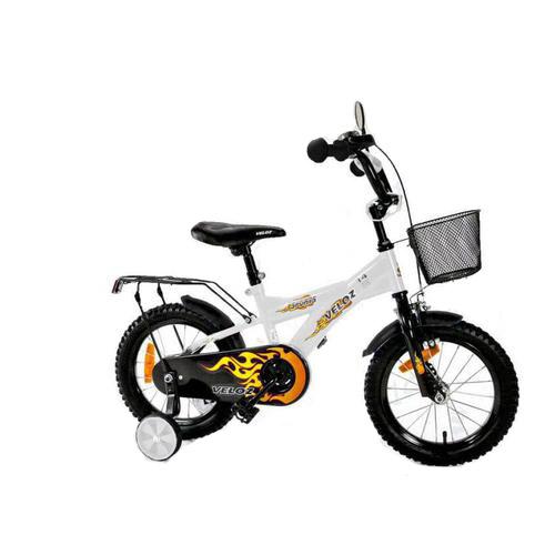 Dětské kolo 1601 BMX Veloz - bílé
