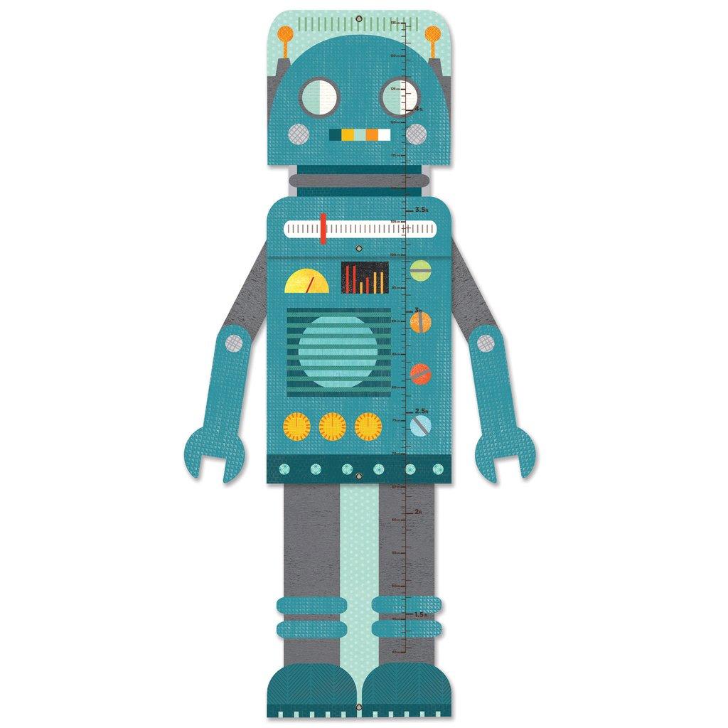 Petitcollage rostoucí metr modrý robot