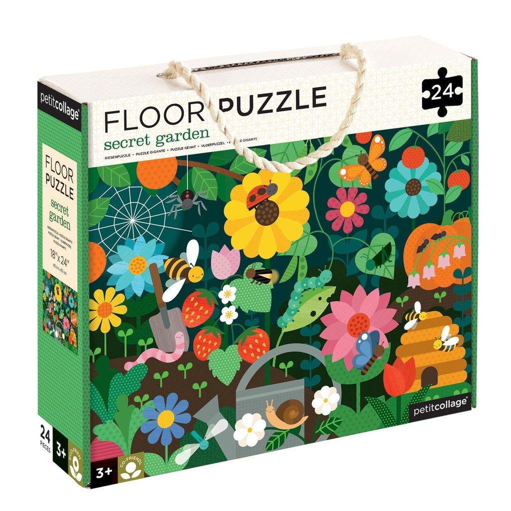 Petitcollage Podlahové puzzle tajemná zahrada