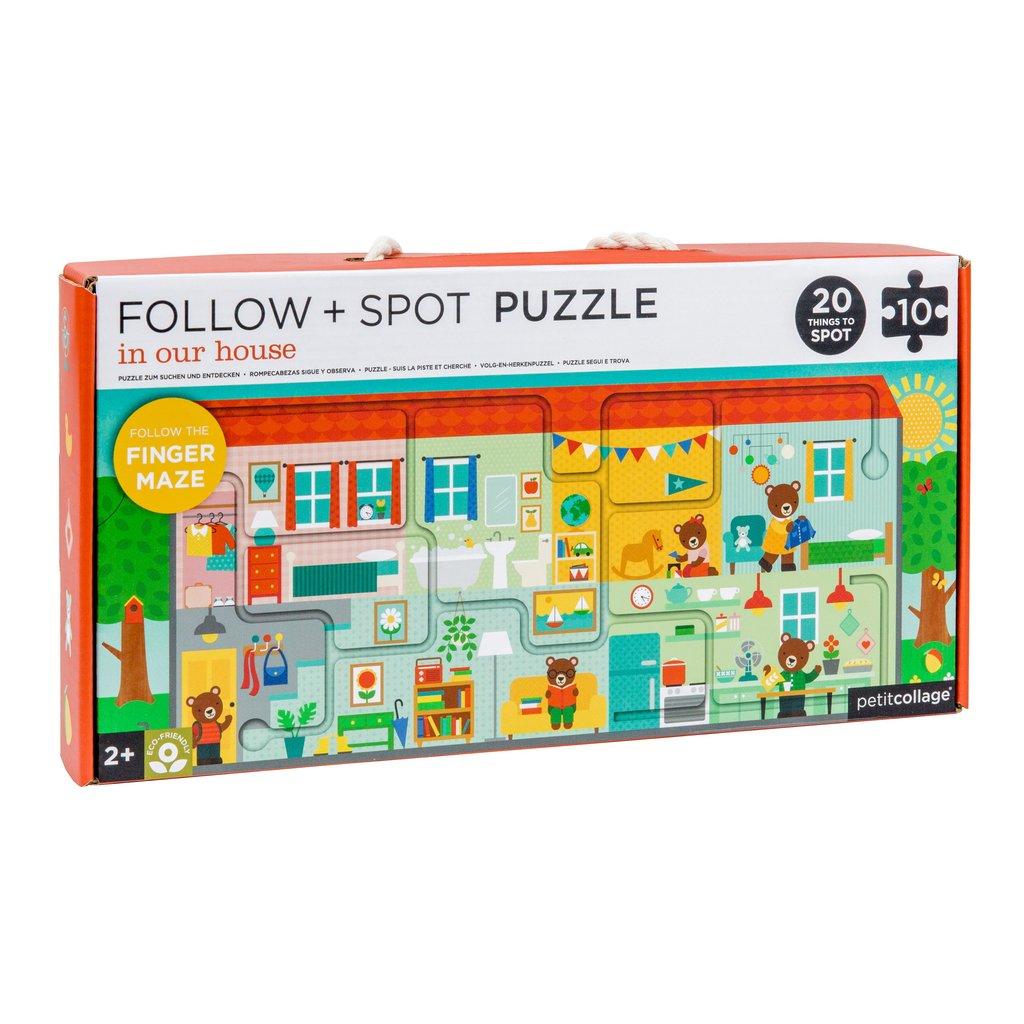 Petitcollage Bludiště a puzzle Náš domov