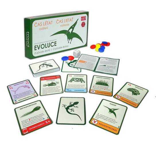 Evoluce - Čas létat (rozšíření)