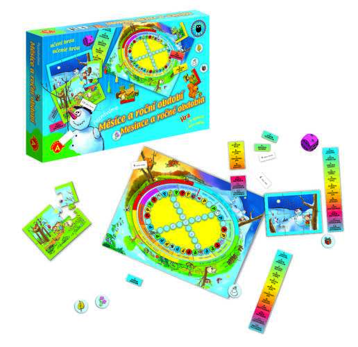 Dětské hry - Měsíce a roční období