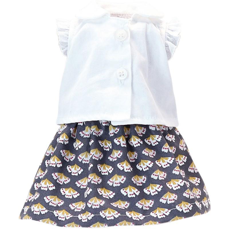 Petitcollin Obleček Suzanne pro panenku 34 cm