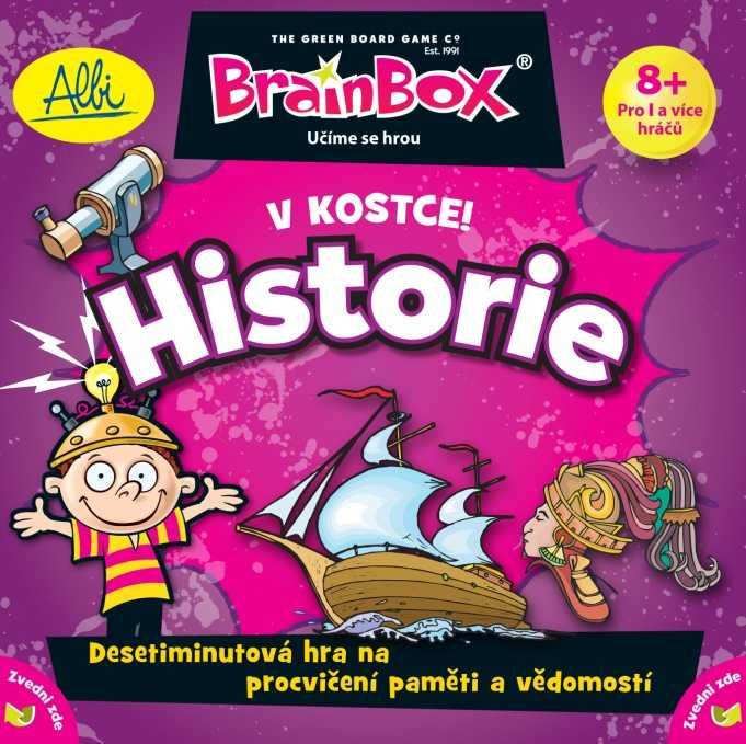 Albi Vzdělávací dětská hra V kostce! Historie