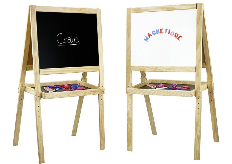 Jeujura Dřevěná multifunkční tabule 58x45 cm s příslušenstvím