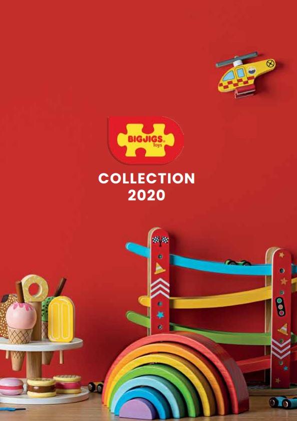 Bigjigs Toys katalog hraček 2020 tištěný