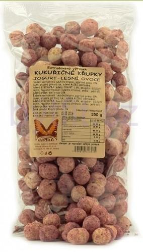 Zdravé mlsání - Křupky kukuřičné  jogurt - lesní plody Natural