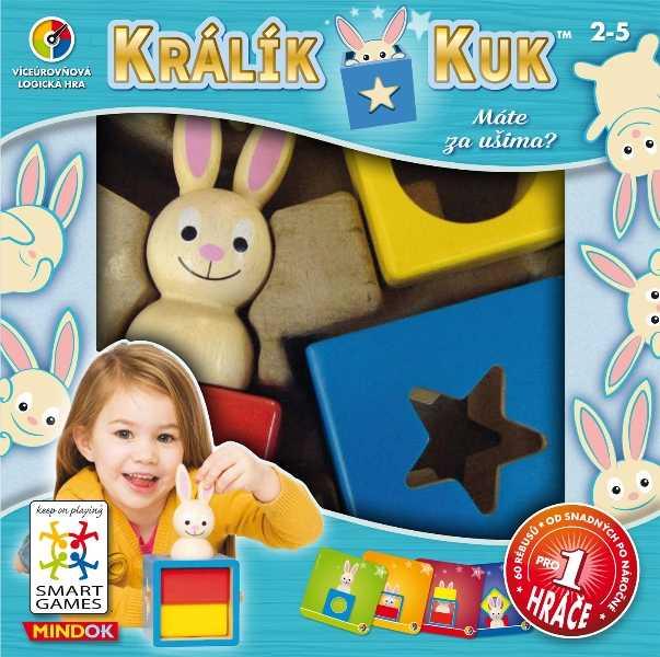Dětské hlavolamové smart hry - Králík Kuk