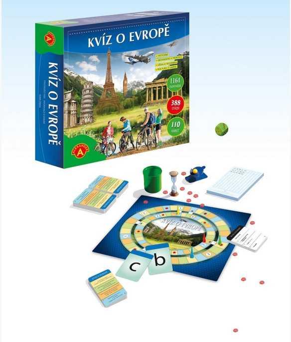 Dětské hry - Kvíz o Evropě