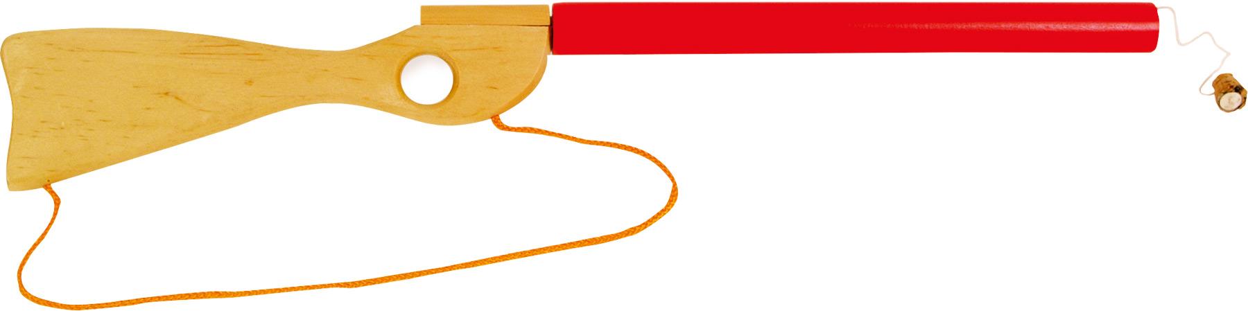 Small Foot Dřevěná puška špuntovka