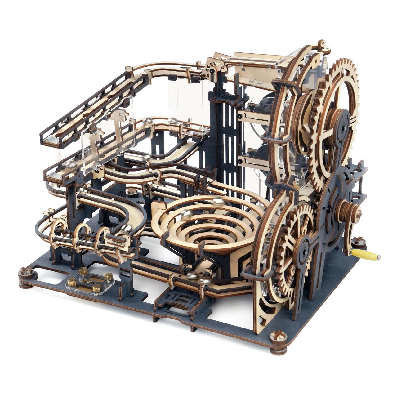RoboTime 3D skládačka kuličkové dráhy Město překážek