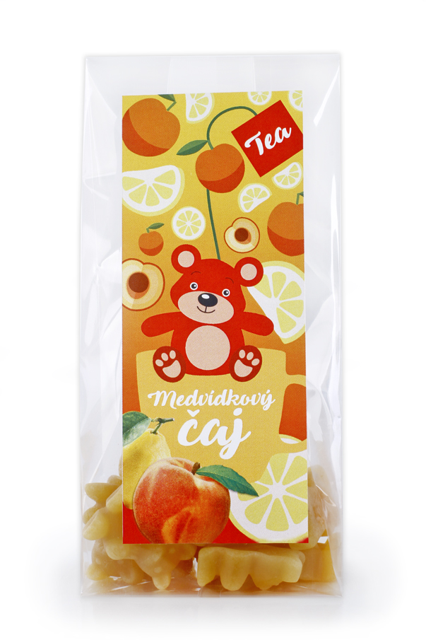 Čaj - Medvídkový čaj - Broskev s citrónem