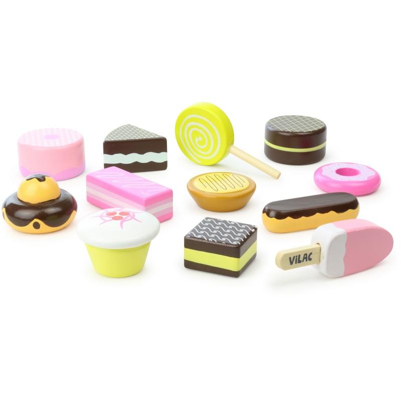 Vilac Set dřevěných sladkostí