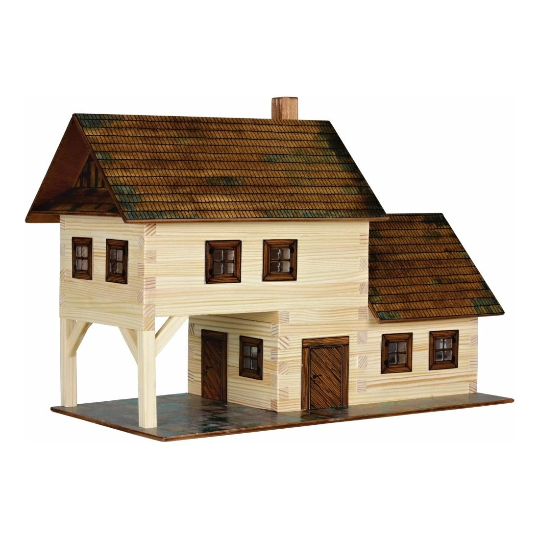 Walachia Dřevěná slepovací stavebnice Hospoda
